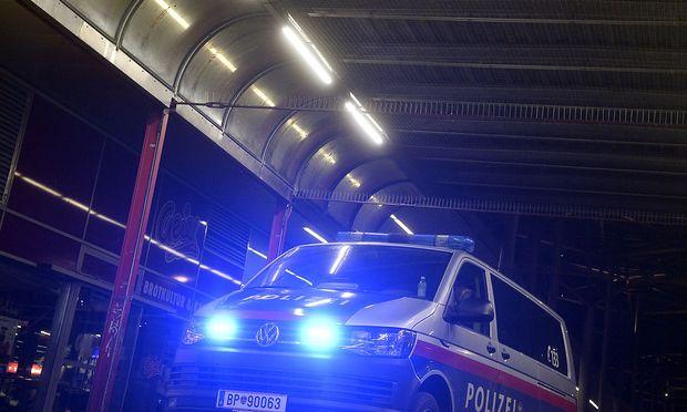 Polizeipräsenz in Wien-Leopoldstadt nach der Attacke vergangene Woche