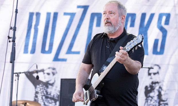 Sept 13 2014 Chicago Illinois U S PETE SHELLEY of the band The Buzzcocks performs live at 2