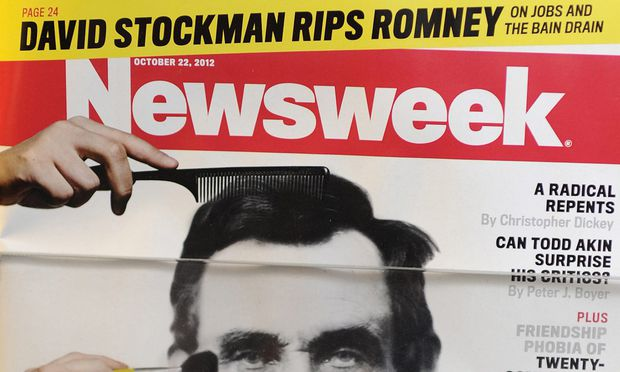 Newsweek ewige Zweite tritt