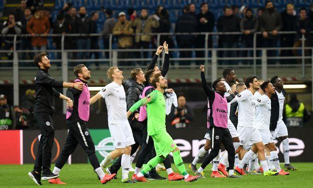Europa League - Round of 16 Second Leg - Inter Milan v Eintracht Frankfurt