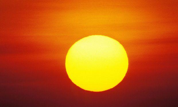 Symbolbild Sonne.