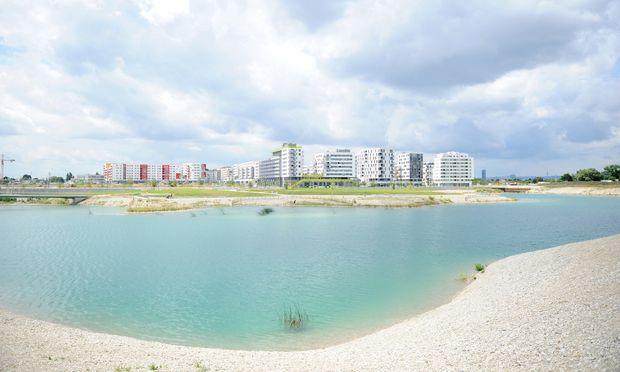 Die Seestadt Aspern in der Donaustadt ist eines der größten Stadtentwicklungsgebiete Europas.