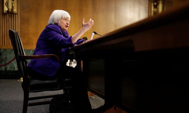 US-Notenbankchefin Janet Yellen könnte heuer bis zu dreimal die Zinsen anheben. So etwas drückt tendenziell die Kurse von Staatsanleihen.