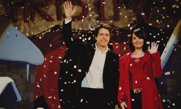 Hugh Grant und Martine McCutcheon