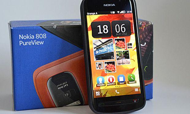 Nokia PureView Test bringen