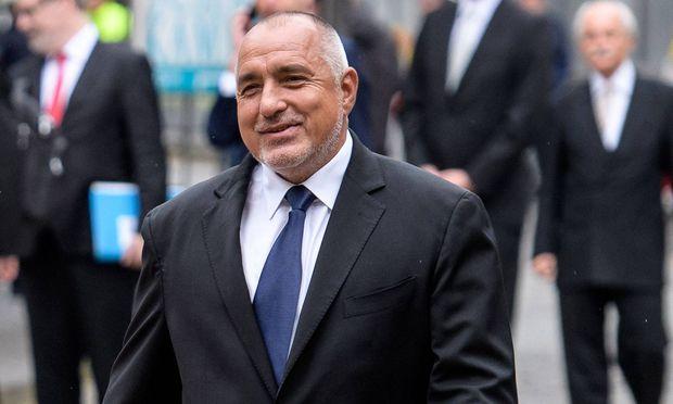 Bulgariens Premier Borissow.