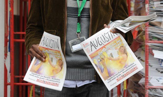 Strassenzeitung Augustin nichts