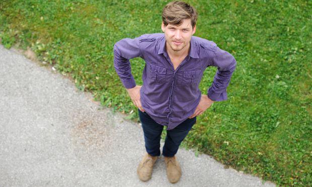 Simon Zöchbauer will das Erbe der österreichischen Volksmusik hochhalten.