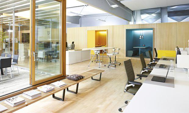 Starre Räumlichkeiten haben im Büro der Zukunft ausgedient