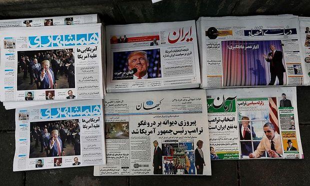 Trump in der iranischen Presse.