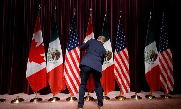 Nafta-Match: USA gegen Mexiko.