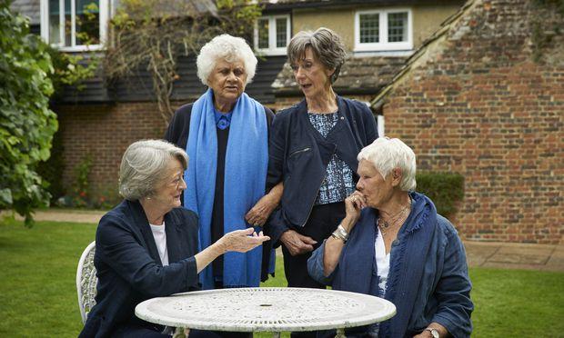 Vier Stars des britischen Kinos: Maggie Smith, Joan Plowright, Eileen Atkins und Judi Dench.