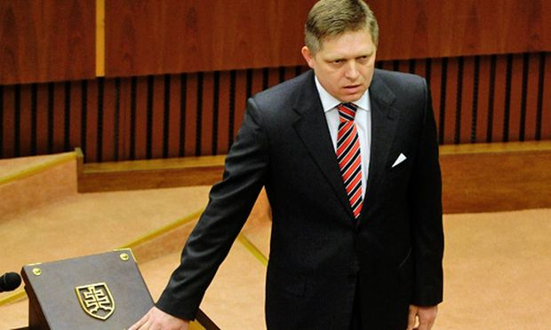 Slowakei Fico Premierminister vereidigt
