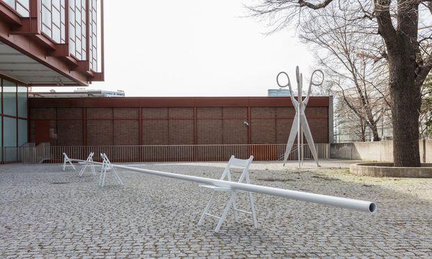 """Typisch Kollnitz: """"Liegende Figur"""", 2017. In der klassischen Bildhauerei verstand man darunter anderes."""