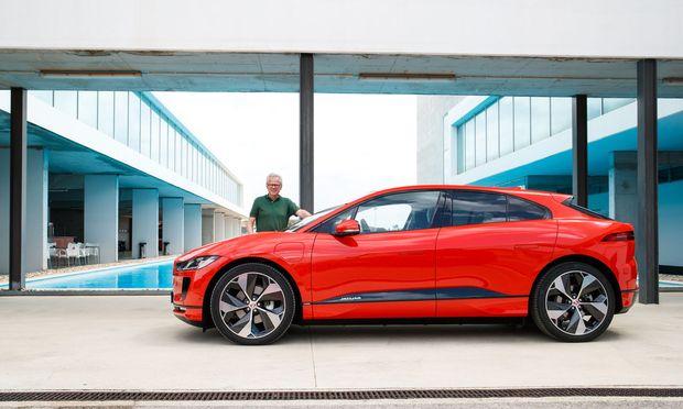 """""""Ich habe Ralf das vorgeschlagen, und er hat sofort Ja gesagt"""": Wolfgang Ziebart und Jaguar I-Pace."""