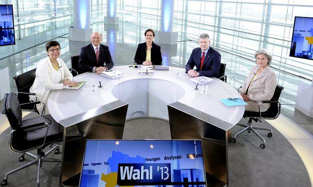 Drei Kandidaten Stuhl gegen