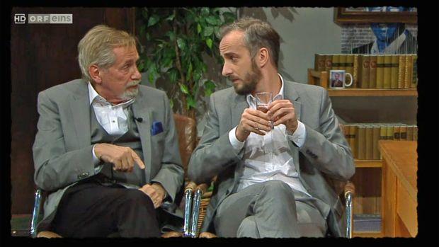 Peter Rapp und Jan Böhmermann.