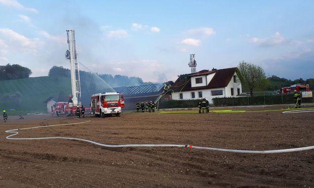 Drei Schwerverletzte bei Brand