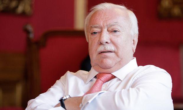 Wiens Bürgermeister Michael Häupl.