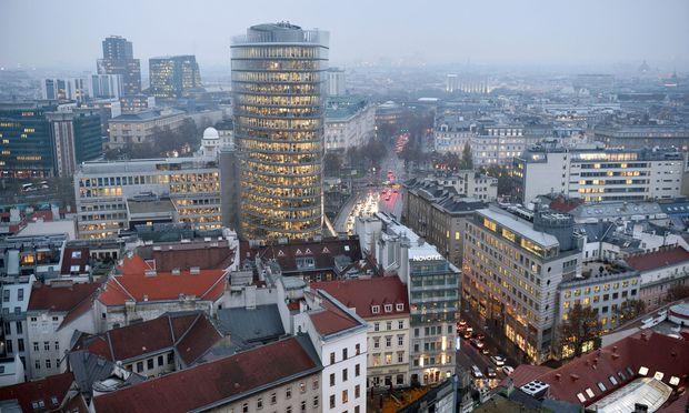 Bürogebäude in Wien