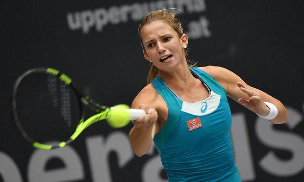 Barbara Haas verliert in der ersten Runde des Linz-Turniers.
