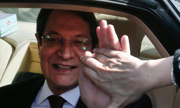 Zypern Anastasiades wird neuer