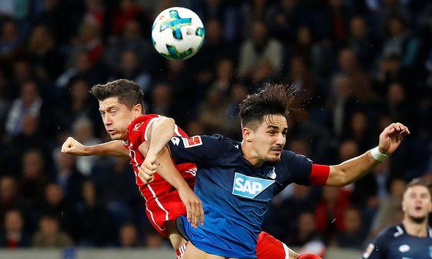Symbolbild deutsche Liga: Hoffenheim gegen Bayern