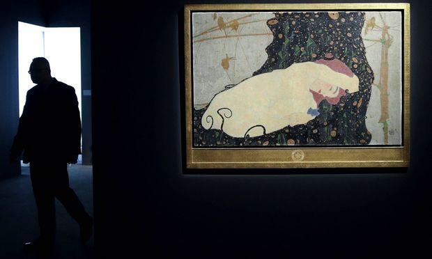 """Das Schiele-Gemälde """"Danaë"""" wurde nicht versteigert."""