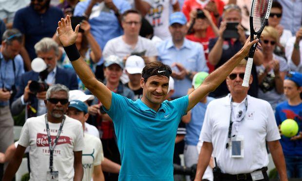 Roger Federer / Bild: APA/AFP/THOMAS KIENZLE