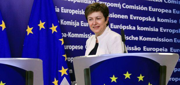 EU-Kommissarin Kristalina Georgiewa.