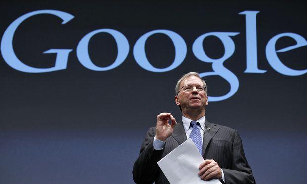 Google Schmidt besucht kommende