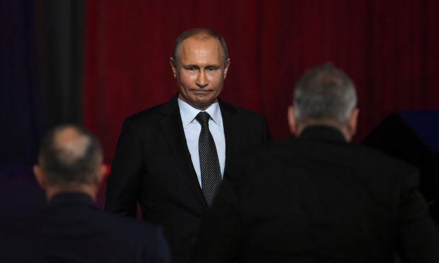 Russlands Präsident Putin wird Kanzler Kurz morgen im Kreml empfangen.