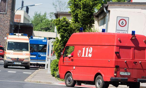 Explosion in Fabrik in Unterfranken