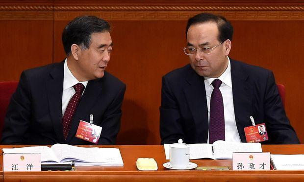 Sun Zhengcai war Parteisekretär von Chongqing.