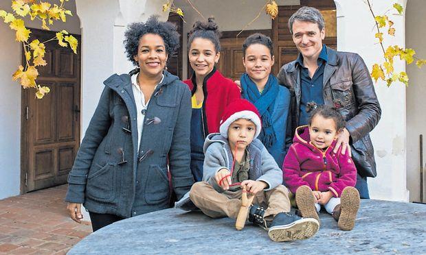 Viel Platz für eine große Familie: die Spörks im Arkadenhof.