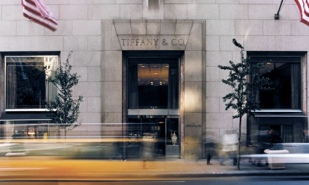 Fifth Avenue. Das Tiffany-Stammhaus in New York verfügt seit Kurzem über ein eigenes Tiffany-Café.