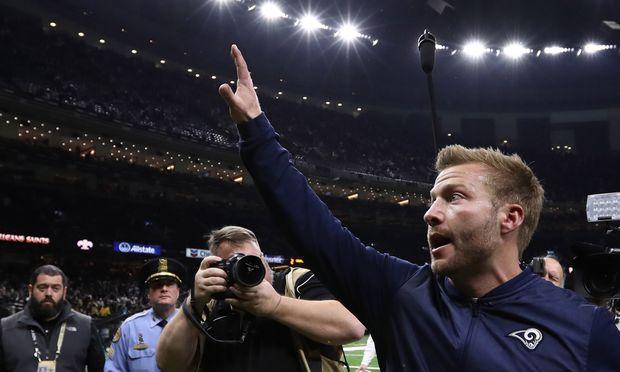 Trainer-Jungspund: Sean McVay ist der jüngste Headcoach in einem NFL-Finale.