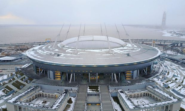 RUSSIA-FBL-WC2018-CONFEDERATION-KRESTOVSKY-STADIUM