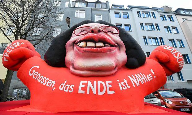 Andrea Nahles im Karneval.