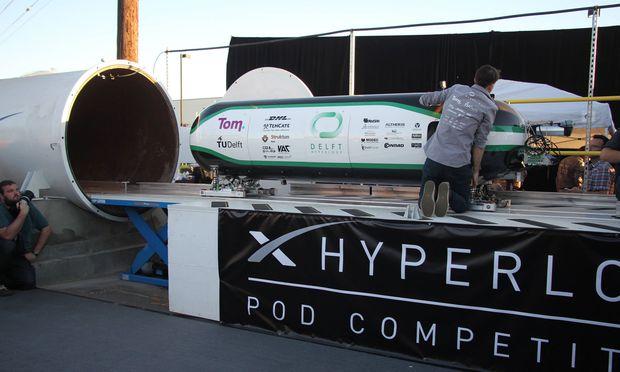 Mehrere Teams arbeiten an der Umsetzung der Hyperloop-Technologie