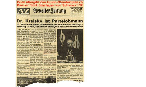 Die Schlacht ist entschieden, die Zukunft der SPÖ gehört Kreisky.