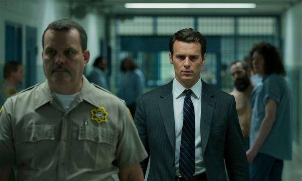 Holden Ford, ein braver, milchtrinkender FBI-Agent.