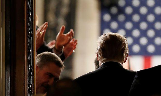 Sehen Sie hier Donald Trumps erste Rede zur Lage der Nation