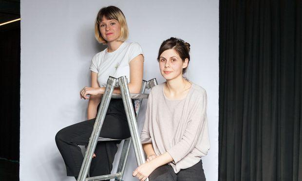 Olena Newkryta und Marlene Maier