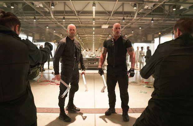"""Jason Statham und Dwayne Johnson müssen sich in """"Fast & Furious: Hobbs & Shaw"""" zusammenraufen"""