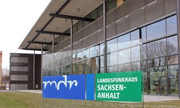 11 04 2006 Magdeburg Sachsen Anhalt Deutschland Das MDR Landesfunkhaus Sachsen Anhalt HF eur