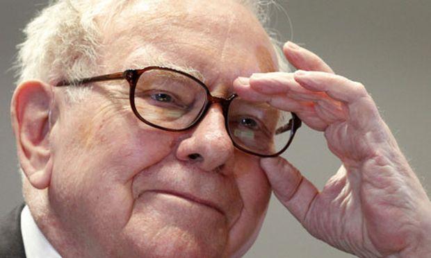 Warren Buffett nette Gesicht