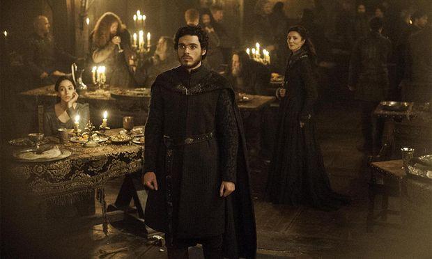 Talisa, Robb und Catelyn Stark kurz vorm ''Rrd Wedding'' / Bild: (c) HBO