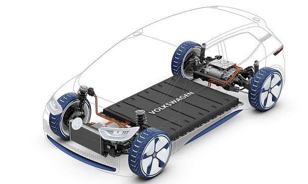 Volkswagens MEB-Plattform für Elektroautos