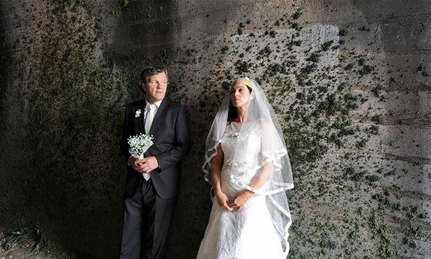 Emir Kusturica und Monica Bellucci.